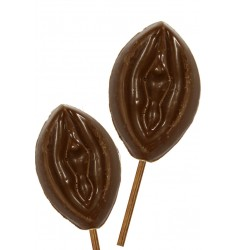 Pirulito Vagina de Chocolate