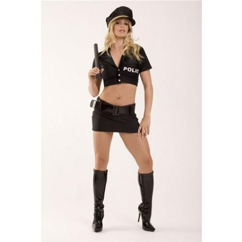 Fantasia Policial Feminina