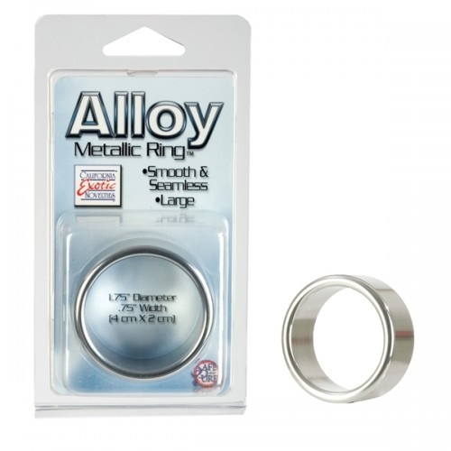 Anel Peniano Metálico - Alloy Metallic Ring - Grande